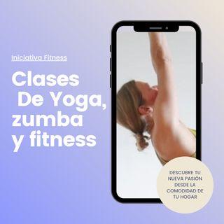 clases online de yoga, zumba, fitness
