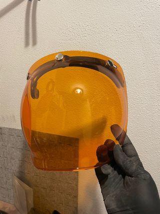 Pantalla burbuja casco moto