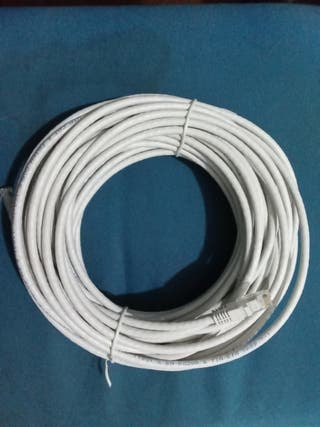 CABLE ETHERNET 20 METROS. CAT 6.