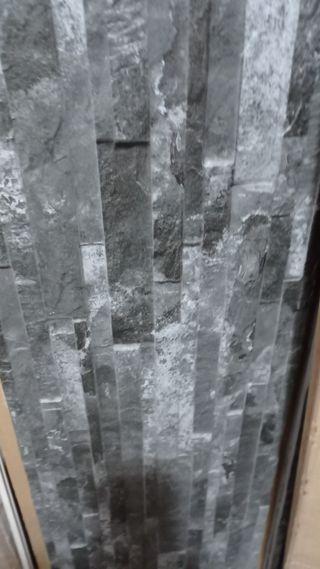 vendo piedra 12m2 para revestir pared