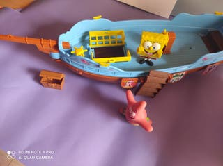 barco de Bob esponja auténtico