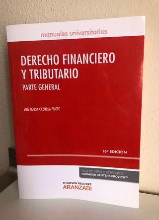 Derecho Financiero y Tributario. 16 edic. L.Cazorl