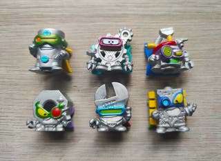 Pack 6 Plata Superzings Serie 7 Power Machines