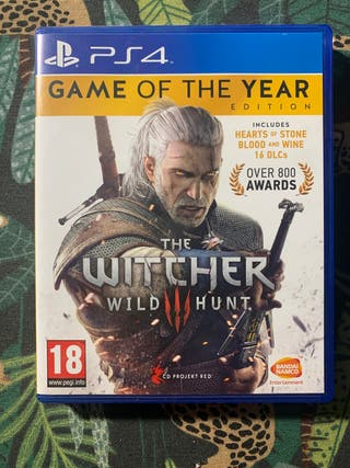 The Witcher 3 / III GOTY + DLCs ps4. No negociable