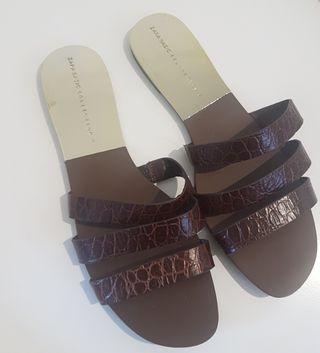 Sandalias planas Zara Collection