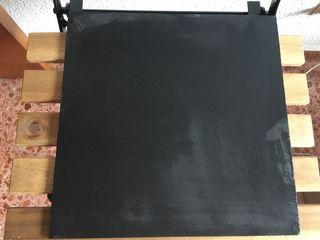 Platos pizarra grande cuadrada 30x 30