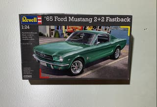 Maqueta Ford Mustang 2+2 Fastback 1965