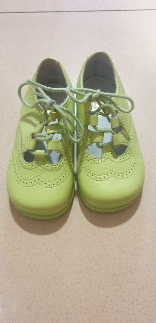 zapatos de piel N° 22