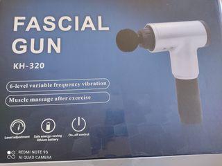 Pistola profesional masaje Fascial