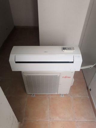 Aire acondicionado Fujitsu.