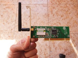 Tarjeta de red wifi interfaz Pci modeo9 Dn 7006gt