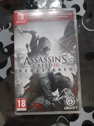 Juego Nintendo Switch, Assassins Creed III