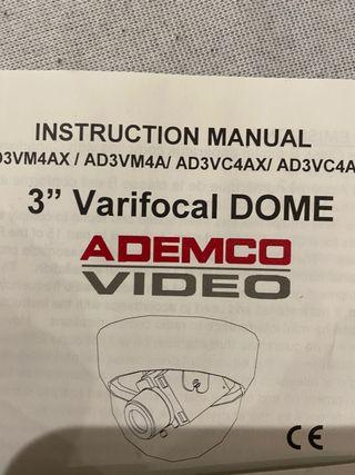 Cámaras de vídeo y seguridad