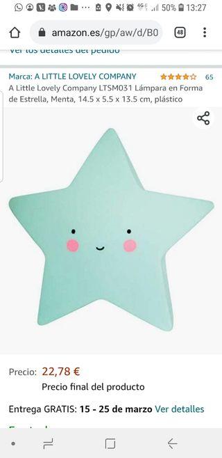 Luz quitamiedos Estrella