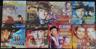 Lote DVD Películas del Oeste