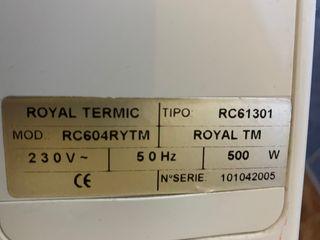 Radiador eléctrico bajo consumo Rointe TM