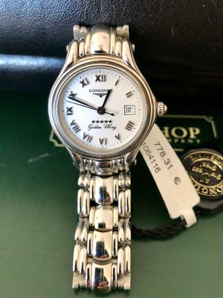 Reloj Longines acero nuevo