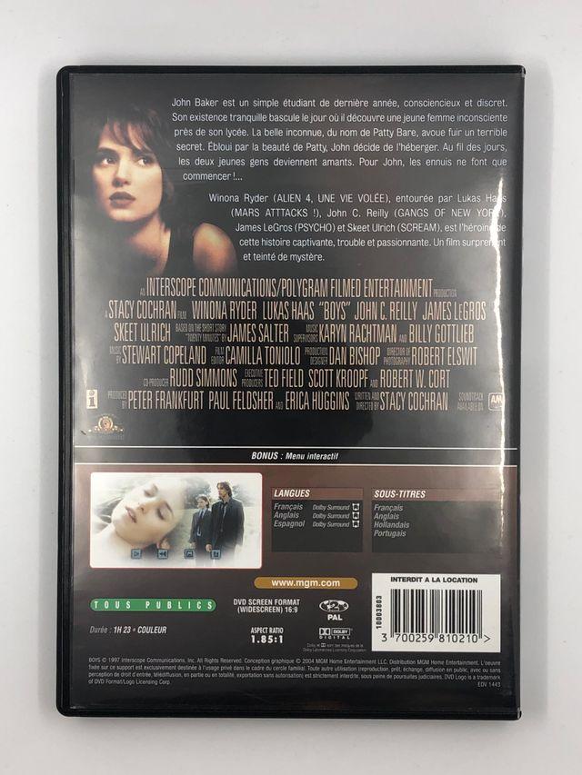 BOYS DVD with Winona Ryder 1996