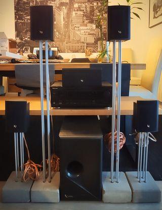 Amplificador VSX-609RDS+ Infinity 6.1