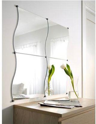 Espejos KRABB Ikea (4 piezas de 44x40cm)