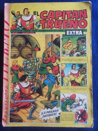 Capitán Trueno Extra. Números 1 a 15. 1960