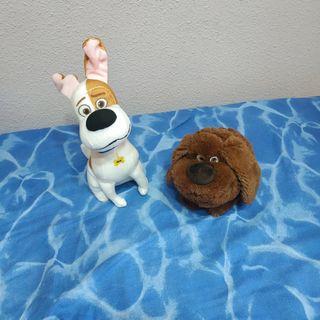 peluches de la película mascotas