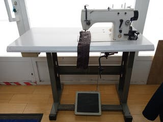 maquina de coser semi industrial singer.