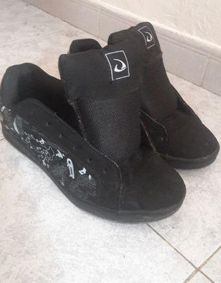 zapatillas / bambas anchas