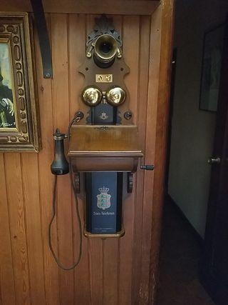 Telefono antiguo de Pared 1912