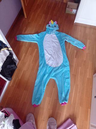 Disfraz, pijama de unicornio