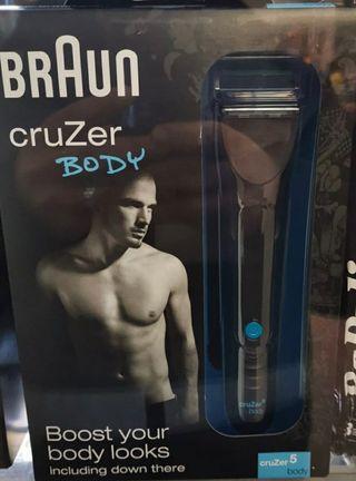 Afeitadora de hombre Brawn Cruzer NUEVA A ESTRENAR