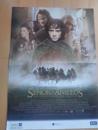 señor de los anillos. lord of the ring. poster