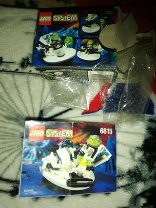 LEGO SYSTEM 6815 (SOLO CAJA E INSTRUCCIONES)