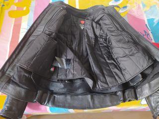 chaqueta piel dainese hombre 48