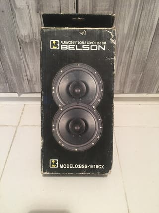 Altavoces coche Belson BSS-1615CX