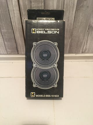Altavoces coche Belson BSS-1515CX