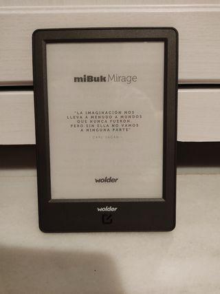 libro electrónico ebook wolder mirage