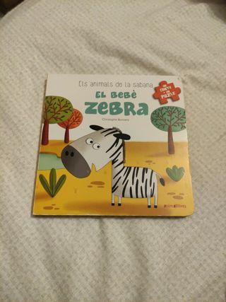 cuento El bebè zebra