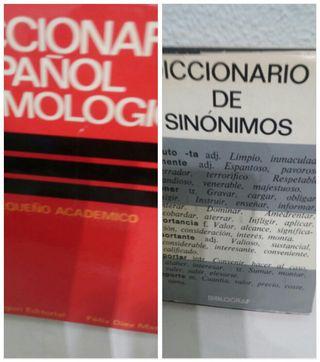 Diccionarios Español