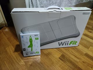 Wii fit original y balance board (perfecto estado)