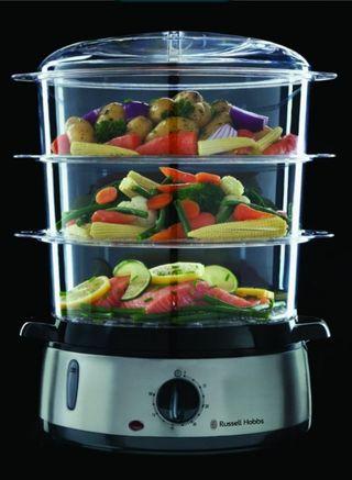 Máquina para cocinar al vapor.