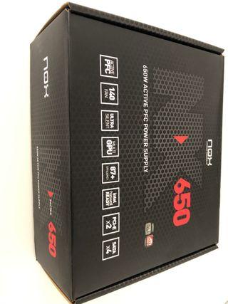 Fuente alimentación NXS650 NOX