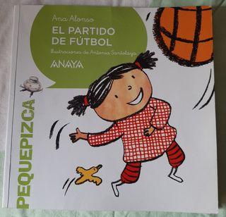 Libro el Partido de Futbol