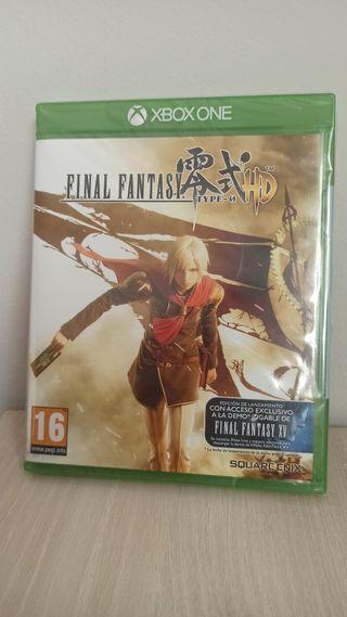PRECINTADO NUEVO. FINAL FANTASY HD XBOX ONE