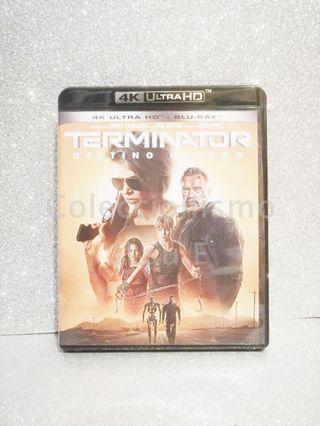 Bluray Terminator Destino Oscuro