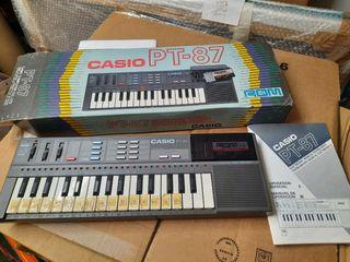 Organo Electrónico Vintage Casio PT-87