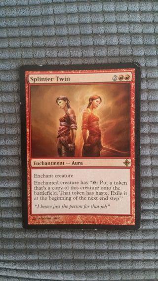1x splinter twin/gemelo astillado mtg