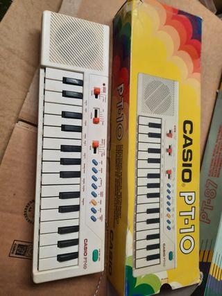 Órgano electronico Casio PT-10 Vintage