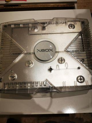 xbox primera generación crystal