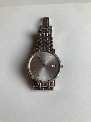 Reloj Longines acero caballero.